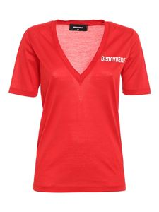 Dsquared2 - Logo T-shirt in red