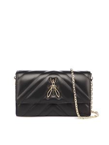 Patrizia Pepe - Fly cross body bag in black