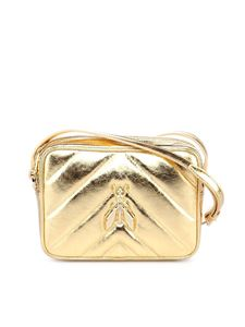 Patrizia Pepe - Fly cross body bag in golden color