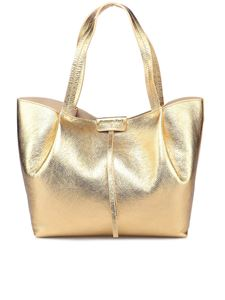 Patrizia Pepe - City tote bag in golden color