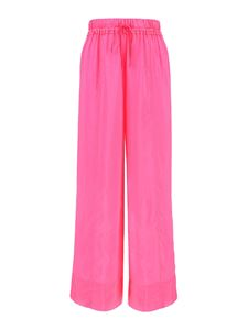 Forte Forte - Hobotai silk trousers in pink