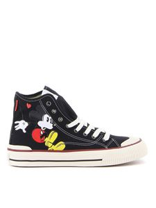 Moaconcept - Topolino canvas sneakers in black