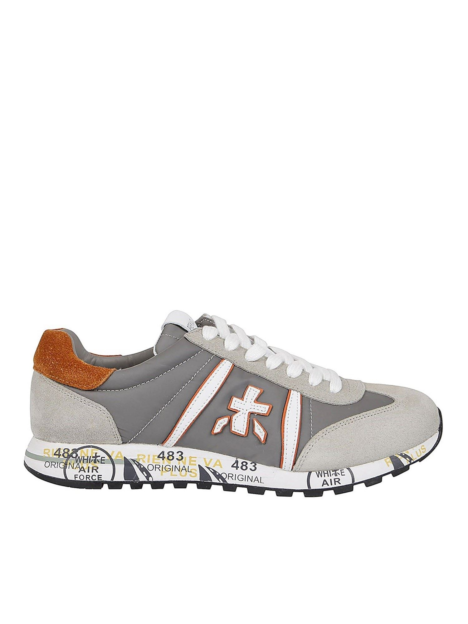 Premiata Low tops LUCY SNEAKERS IN GREY