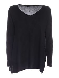Paolo Fiorillo - Silk and cashmere sweater in black