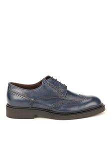 Fratelli Rossetti - Brogue derby shoes in blue