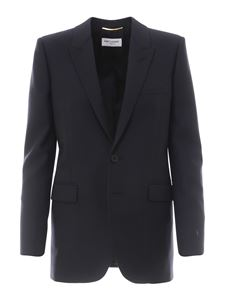 Saint Laurent - Wool blazer in blue