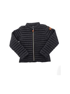 Save the duck - Quilted padded jacket in black