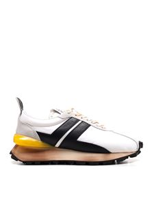 Lanvin - Bumpr sneakers in white and black
