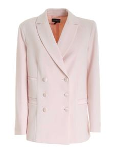 Emporio Armani - Double-breasted jacket in pink