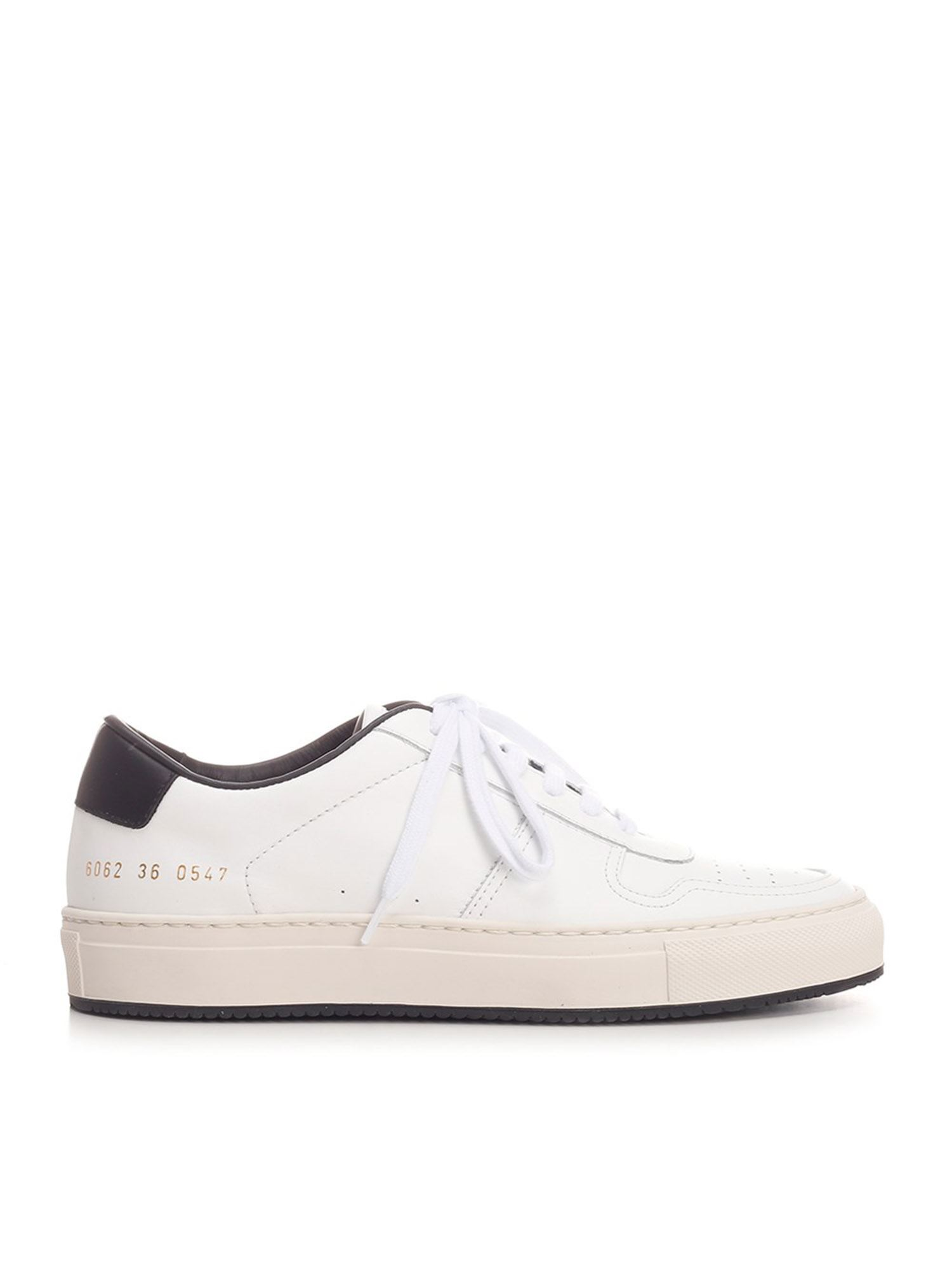 Common Projects Low tops BBALL 90 SNEAKERS IN WHITE AND BLACK