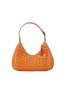 By Far - Baby Amber bag in orange color