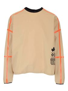 Dsquared2 - Oversized T-shirt in beige