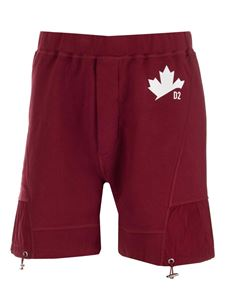 Dsquared2 - Active D2 Leaf shorts in red