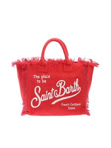 MC2 Saint Barth - Logo print bag in red