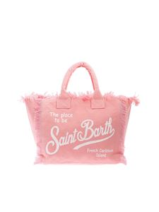 MC2 Saint Barth - Logo print bag in pink