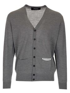 Dsquared2 - Pockets cardigan in grey