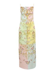 Versace Jeans Couture - Cameo print multicolor sleeveless dress