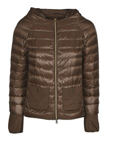 Herno - Pockets padded jacket in brown