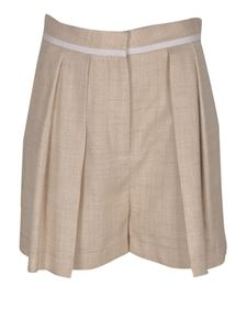 Stella McCartney - Tailored shorts in beige