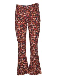 Marni - Floral printed jeans in multicolor