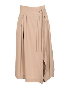 Chloé - Side vent skirt in beige
