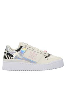 Adidas Originals - Forum Bold sneakers in white and black