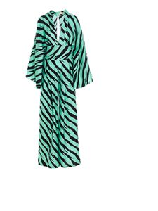 Alexandre Vauthier - Printed jumpsuit in Jade color