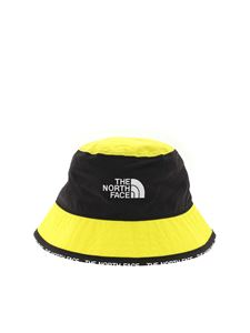 The North Face - Cappello Cypress Bucket nero e giallo
