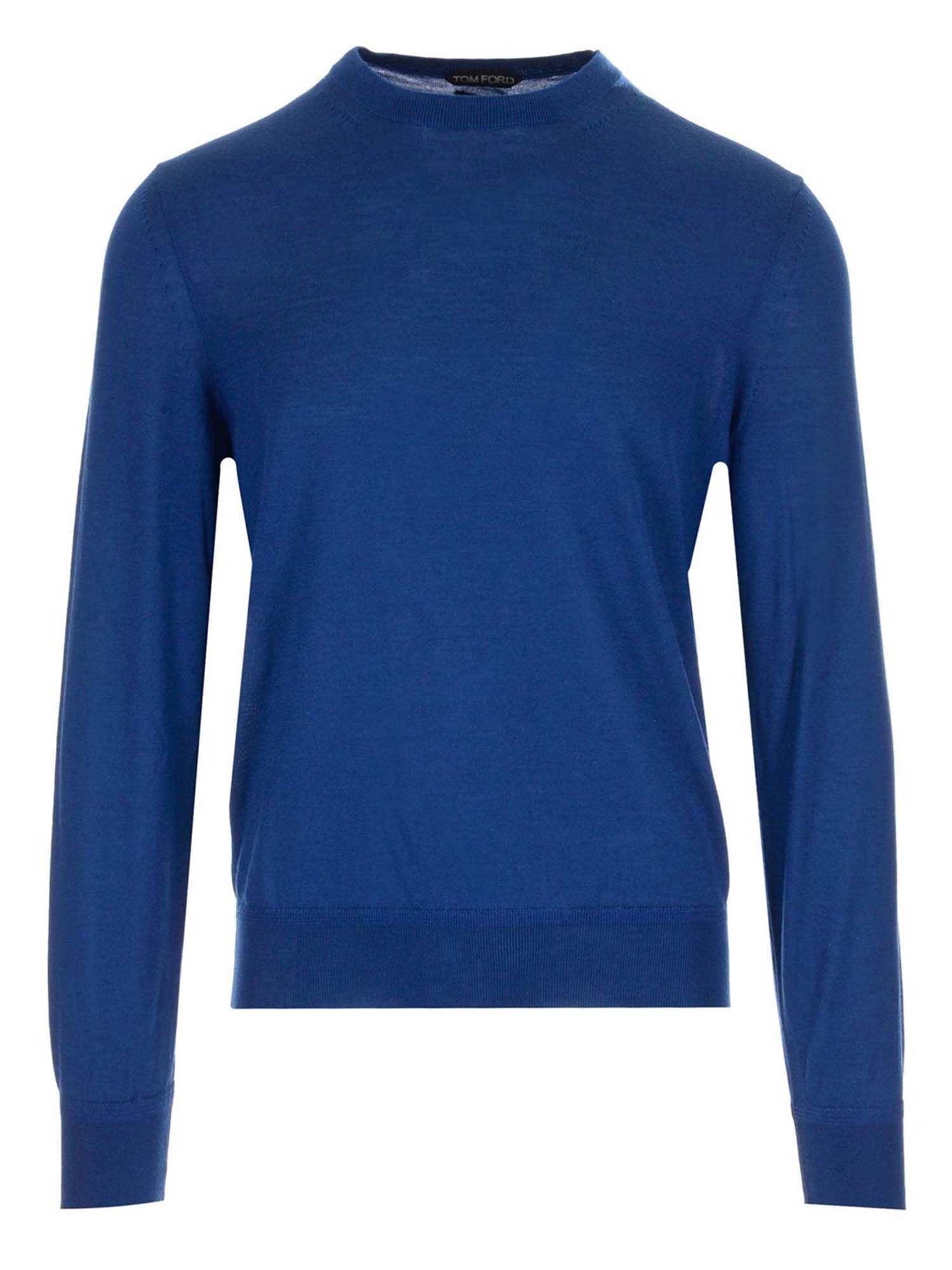 Tom Ford CASHMERE SWEATER IN BLUE