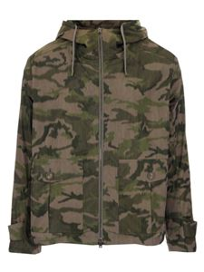 Herno - Giacca camouflage sui toni del verde