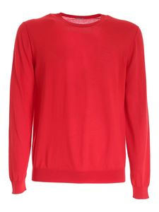 malo - Crewneck sweater in red