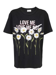 Red Valentino - Daisy T-shirt in black