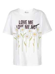 Red Valentino - Daisy T-shirt in white