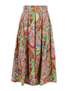 Department 5 - Paisley print maxi skirt in multicolor