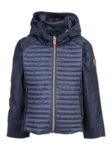 Save The Duck - Irme 12 rain jacket in blue