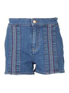 See by Chloé - Denim shorts in blue