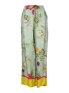 Semicouture - Alexie trousers in light green