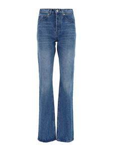 Paco Rabanne - Stone wash bootcut jeans
