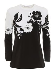 Ermanno Scervino - Floral embroideries T-shirt