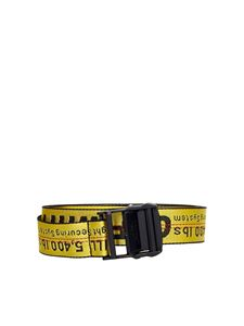 Off-White - Industrial belt in yellow