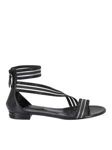 Casadei - Venus Planet sandals in black