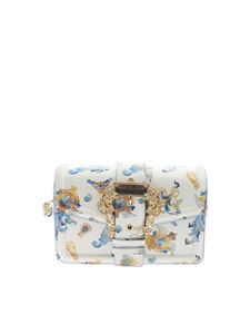 Versace Jeans Couture - Cameo prints cross body bag in white