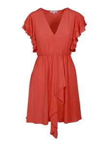 Patrizia Pepe - Light crêpe dress in red