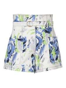 Philosophy di Lorenzo Serafini - Patch pocket shorts multicolor