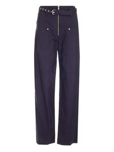 Isabel Marant Étoile - Paggy trousers in Faded Night