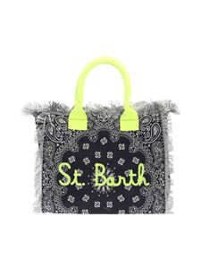 MC2 Saint Barth - Bandanna Round print bag in blue