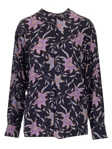 Isabel Marant Étoile - Catchell shirt in Faded Night color