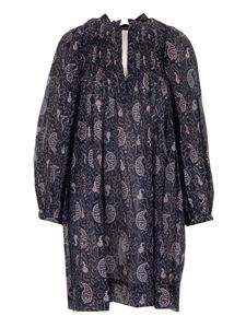Isabel Marant Étoile - Wide dress in Faded Night color