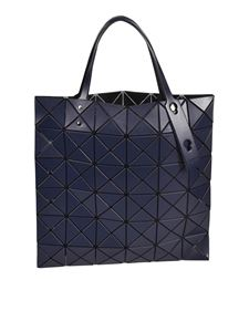 BAO BAO Issey Miyake - Geometric design shopper bag in navy blue