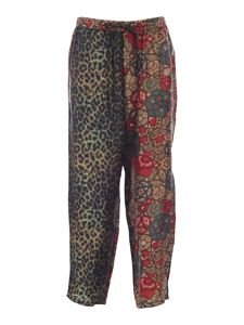 Pierre-Louis Mascia - Printed pants in shades of red